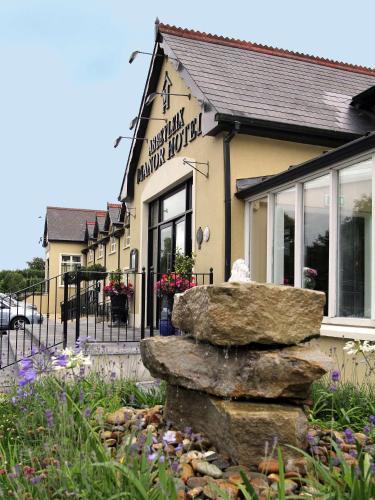 The facade or entrance of The Abbeyleix Manor Hotel