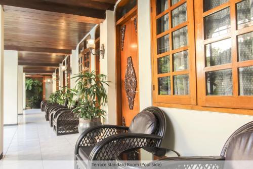 Лаундж или бар в Duta Guest House