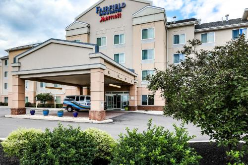 The facade or entrance of Fairfield by Marriott Wilkes-Barre