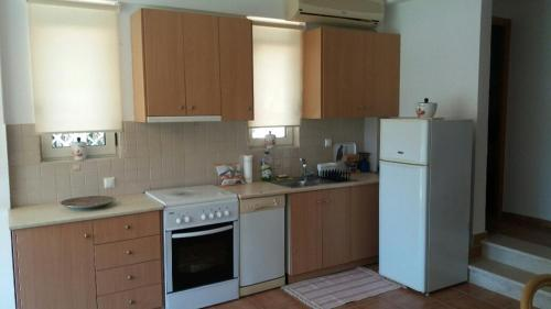 A kitchen or kitchenette at Politeia Houses