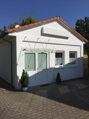 Eine Fassade oder ein Eingang zu Ferienhaus Brueckner
