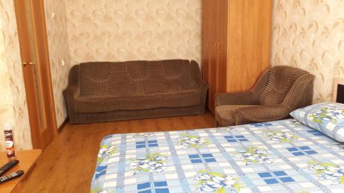 Гостиная зона в Apartments at Tukhachevskovo 20 block 7