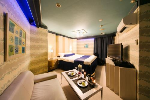 A television and/or entertainment center at Hotel Renaissance Sendai (Leisure Hotel)