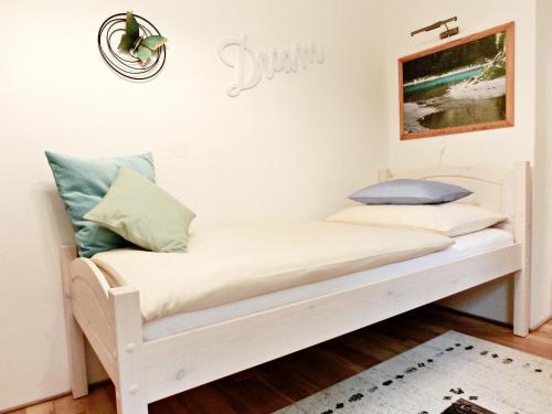 Ein Sitzbereich in der Unterkunft Ferienhaus Sonnenhorst
