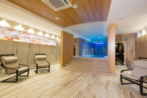 Лобби или стойка регистрации в Отель «Томь River Plaza»