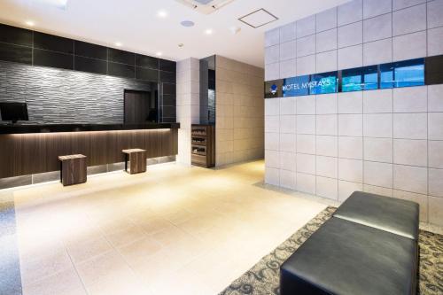 The lobby or reception area at HOTEL MYSTAYS Kanda