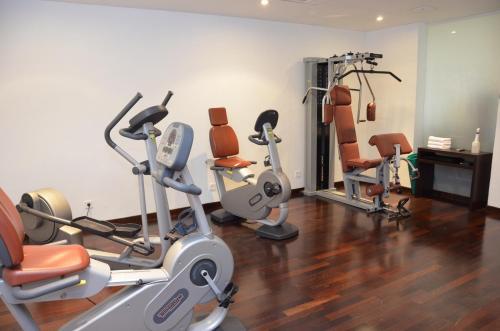 Das Fitnesscenter und/oder die Fitnesseinrichtungen in der Unterkunft MyPlace - Premium Apartments City Centre