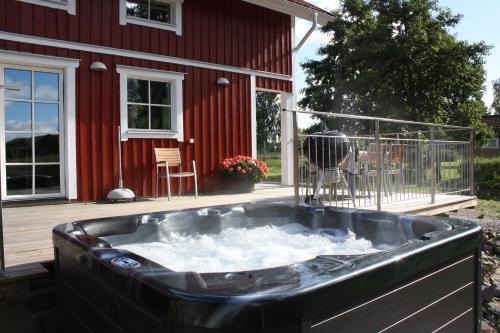 Spa och/eller andra wellnessfaciliteter på Nolgårdens Turistboende