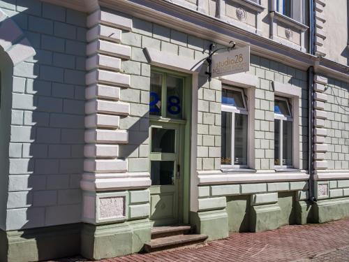The facade or entrance of Studio28 Boutique Rooms