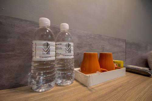 Coffee and tea-making facilities at Chariton Hotel Alma