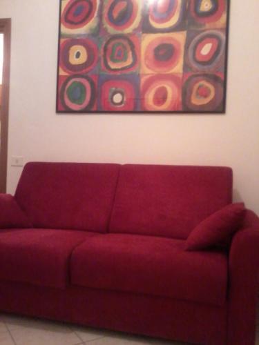 Area soggiorno di All In Rome Apartment