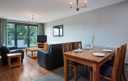 A seating area at Cordia Serviced Apartments