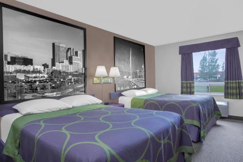 A room at Super 8 by Wyndham Portage La Prairie MB