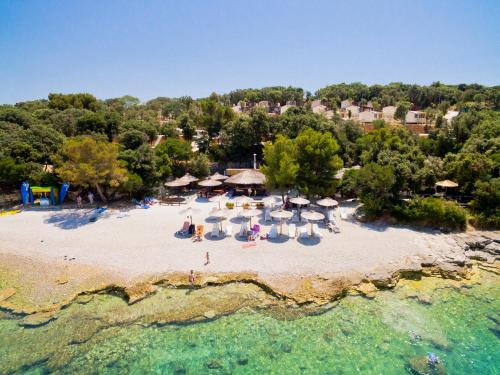 A bird's-eye view of Brioni Sunny Camping by Valamar