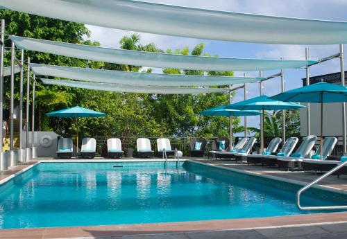 The swimming pool at or close to Bel Jou Adults Only - All Inclusive