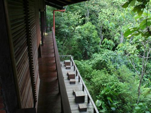 A balcony or terrace at Paganakan Dii Tropical Retreat