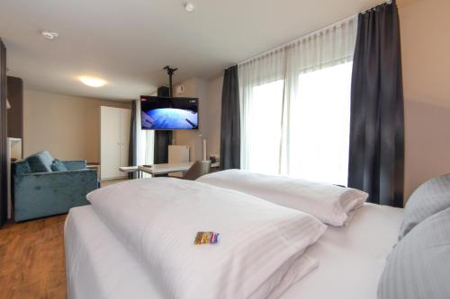 Ein Zimmer in der Unterkunft Design & Lifestyle Hotel Estilo