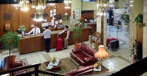 Лаундж или бар в Cesar's Plaza Hotel