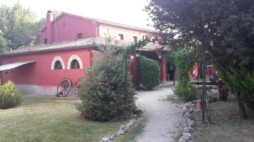 A porch or other outdoor area at Agriturismo Case Mori
