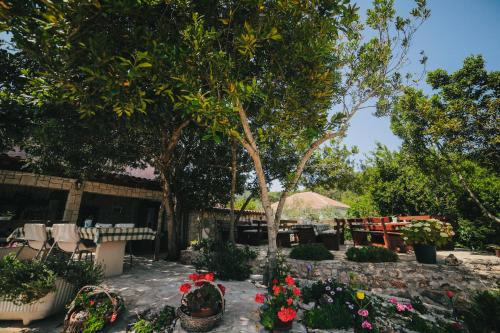 A porch or other outdoor area at Apartments Santa Marija