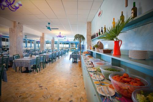 Restaurace v ubytování Hotel Playa e Mare Nostrum