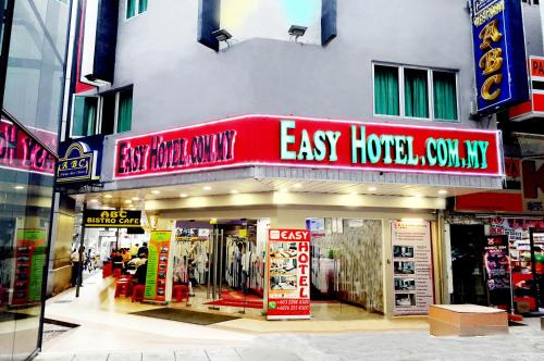 The facade or entrance of Easy Hotel KL Sentral