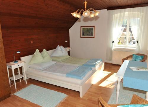 Ein Zimmer in der Unterkunft Gasthof Brauhaus