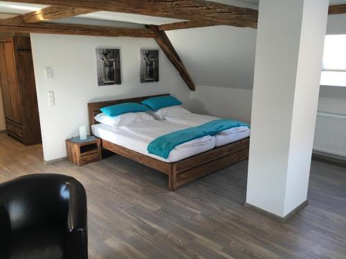 Ein Zimmer in der Unterkunft Moserhof-Apartments