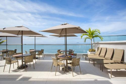 A restaurant or other place to eat at Hotel Atlantico Praia
