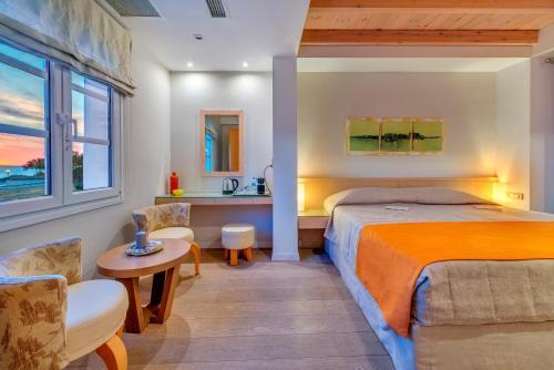 A room at Nissaki Beach Hotel
