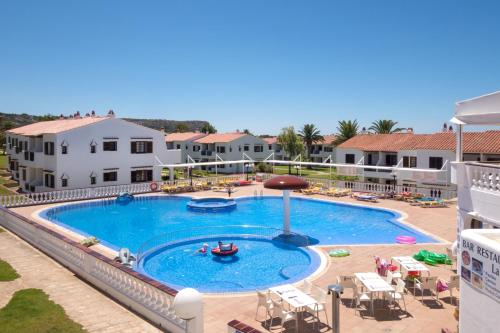 The swimming pool at or near Son Bou Playa Gold