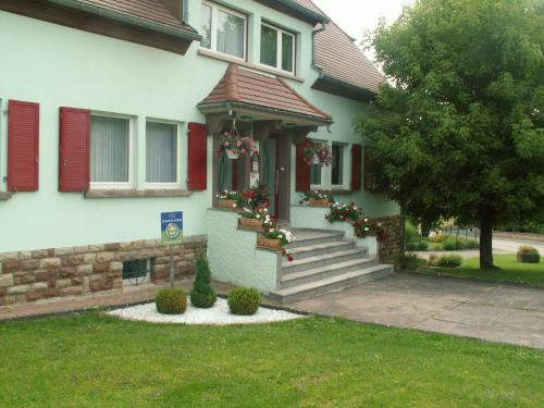 A porch or other outdoor area at Gite et Chambres d'hôtes chez Annie et Fredel