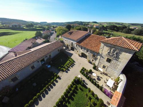 A bird's-eye view of Hotel Palacio de la Peña Cantabria