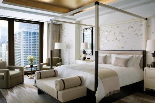 A room at The Langham Chicago