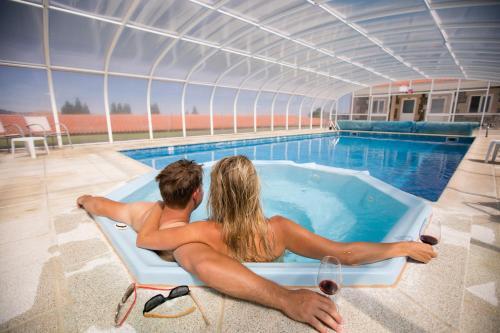 The swimming pool at or near Quinta da Barroca