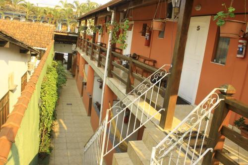 A patio or other outdoor area at Pousada Mar & Vida e Doçaria