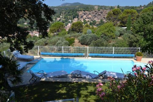 Piscine de l'établissement Tivoli en Provence ou située à proximité