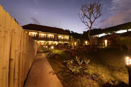 Zahrada ubytování Le Lima