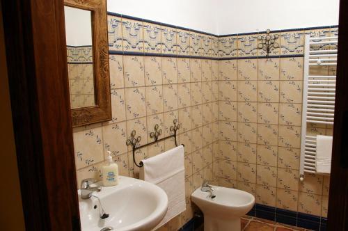 A bathroom at Villa de Xicar
