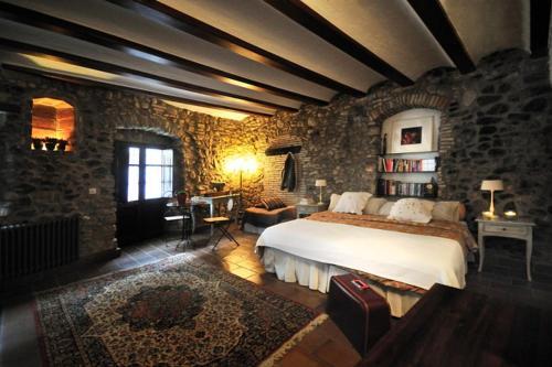 Llit o llits en una habitació de Casa Matilda Bed and Breakfast