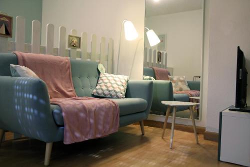 A seating area at La Colombière - Montélimar