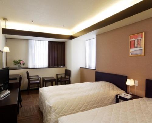 A room at Niigata City Hotel