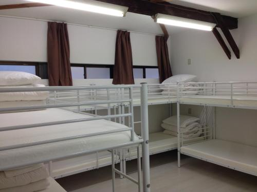 A bunk bed or bunk beds in a room at Keys House