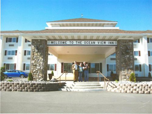 The facade or entrance of Oceanview Inn and Suites