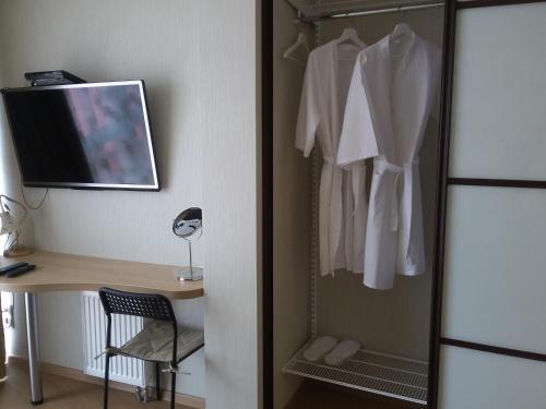 Ванная комната в Apartment Park Gorkogo