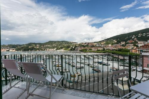 Balcone o terrazza di Al Molo Sea View Rooms