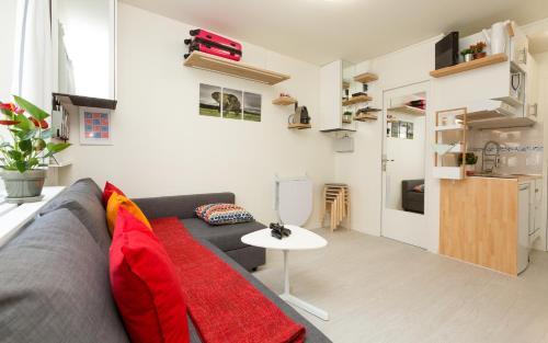 The lounge or bar area at Notre-Dame luxury Suite in Saint-germain des prés Latin quarter