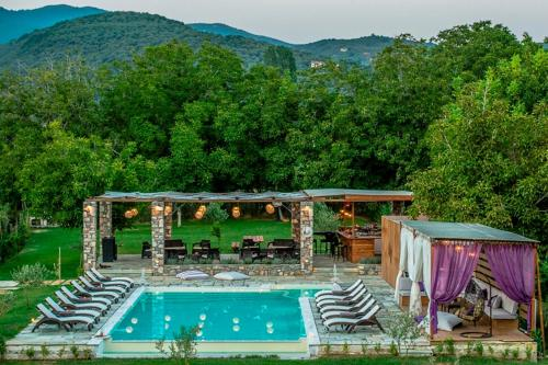 The swimming pool at or near Levantes Villas