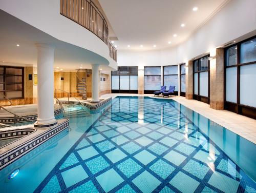 The swimming pool at or near DoubleTree by Hilton Glasgow Central