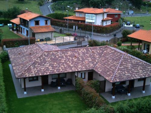 The Cool Houses a vista de pájaro